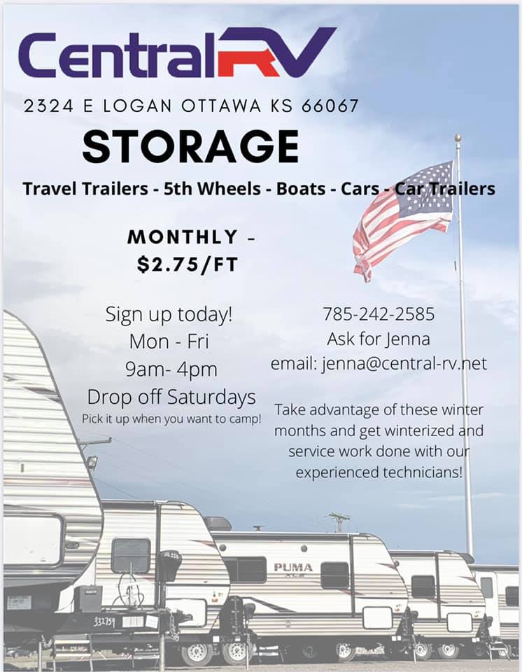Storage for Travel Trailers 5th Wheels Boats Cars Car Trailers